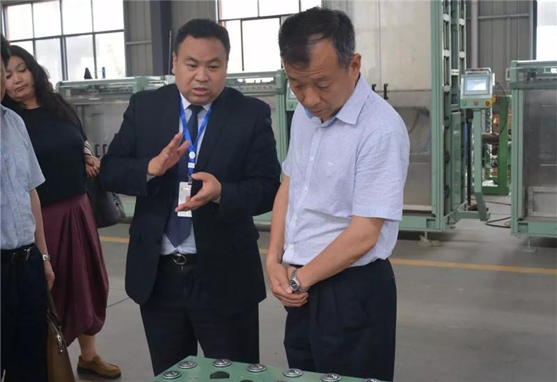 湘潭市政协调研组莅临亚博官网娱乐app下载自动化