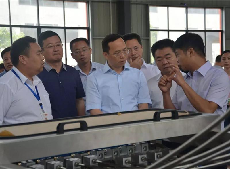 市长谈文胜,市科技部门负责人一行莅临亚博官网娱乐app下载